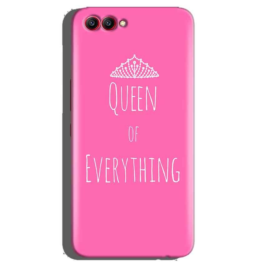 Huawei Honor View 10 Mobile Covers Cases Queen Of Everything Pink White - Lowest Price - Paybydaddy.com