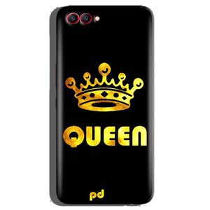 Huawei Honor View 10 Mobile Covers Cases Queen With Crown in gold - Lowest Price - Paybydaddy.com