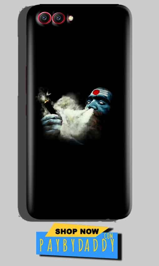 Huawei Honor View 10 Mobile Covers Cases Shiva Aghori Smoking - Lowest Price - Paybydaddy.com