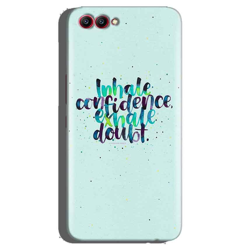 Huawei Honor View 10 Mobile Covers Cases inhale Confidence Exhale Doubt - Lowest Price - Paybydaddy.com