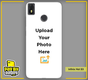 Customized Infinix Hot S3 Back Mobile Phone Covers & Back Covers with your Text & PhotoPhoto Cover,Custom Cover,Picture With Cover