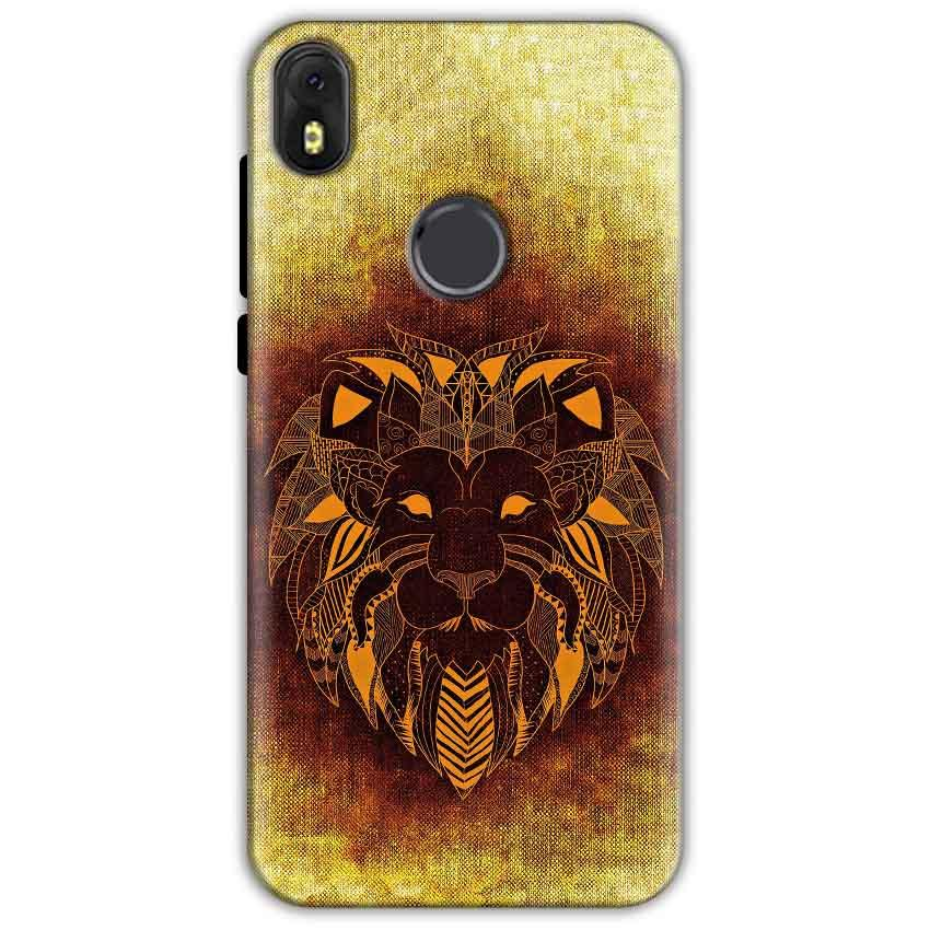 Infinix Hot S3 Mobile Covers Cases Lion face art - Lowest Price - Paybydaddy.com