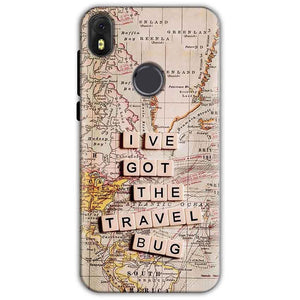Infinix Hot S3 Mobile Covers Cases Live Travel Bug - Lowest Price - Paybydaddy.com