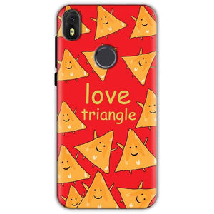 Infinix Hot S3 Mobile Covers Cases Love Triangle - Lowest Price - Paybydaddy.com