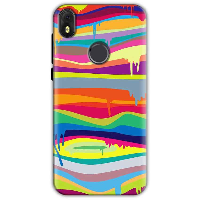 Infinix Hot S3 Mobile Covers Cases Melted colours - Lowest Price - Paybydaddy.com
