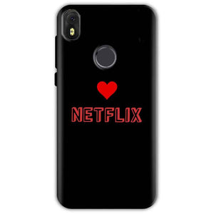 Infinix Hot S3 Mobile Covers Cases NETFLIX WITH HEART - Lowest Price - Paybydaddy.com