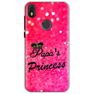 Infinix Hot S3 Mobile Covers Cases PAPA PRINCESS - Lowest Price - Paybydaddy.com