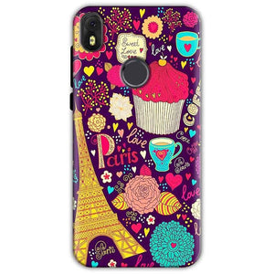Infinix Hot S3 Mobile Covers Cases Paris Sweet love - Lowest Price - Paybydaddy.com