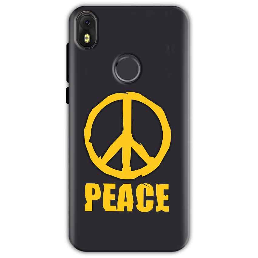 Infinix Hot S3 Mobile Covers Cases Peace Blue Yellow - Lowest Price - Paybydaddy.com