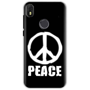 Infinix Hot S3 Mobile Covers Cases Peace Sign In White - Lowest Price - Paybydaddy.com