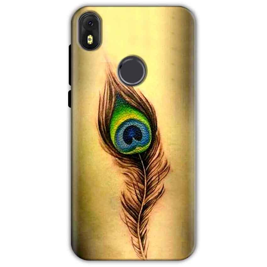 Infinix Hot S3 Mobile Covers Cases Peacock coloured art - Lowest Price - Paybydaddy.com
