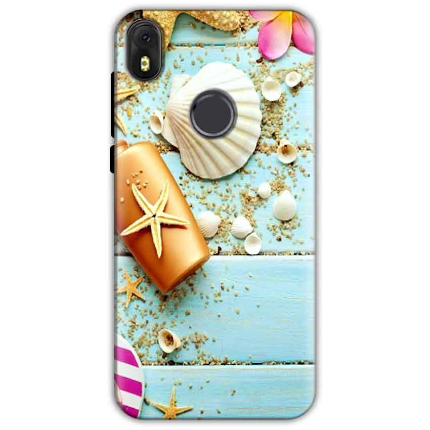 Infinix Hot S3 Mobile Covers Cases Pearl Star Fish - Lowest Price - Paybydaddy.com