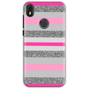 Infinix Hot S3 Mobile Covers Cases Pink colour pattern - Lowest Price - Paybydaddy.com