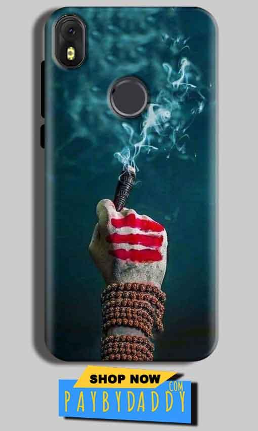 Infinix Hot S3 Mobile Covers Cases Shiva Hand With Clilam - Lowest Price - Paybydaddy.com