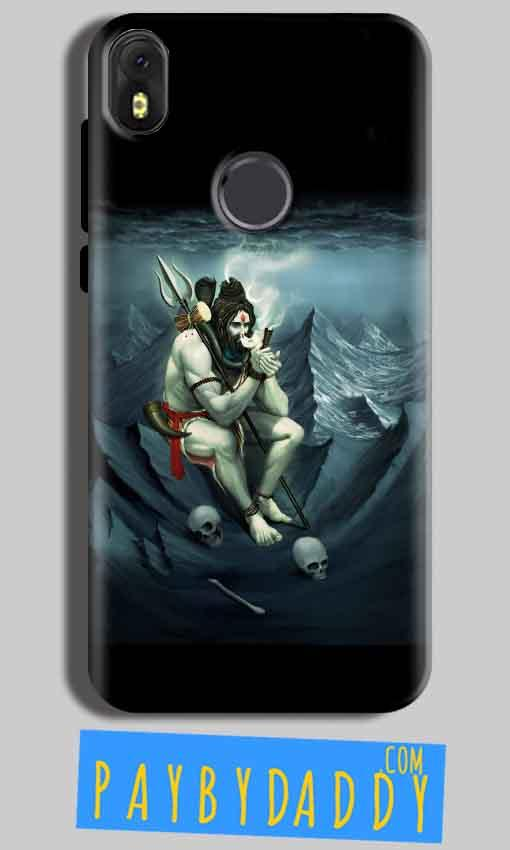 Infinix Hot S3 Mobile Covers Cases Shiva Smoking - Lowest Price - Paybydaddy.com
