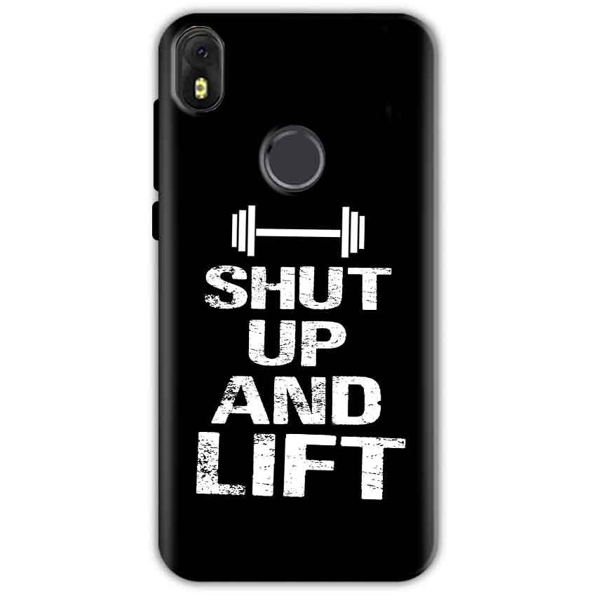 Infinix Hot S3 Mobile Covers Cases Shut Up And Lift - Lowest Price - Paybydaddy.com