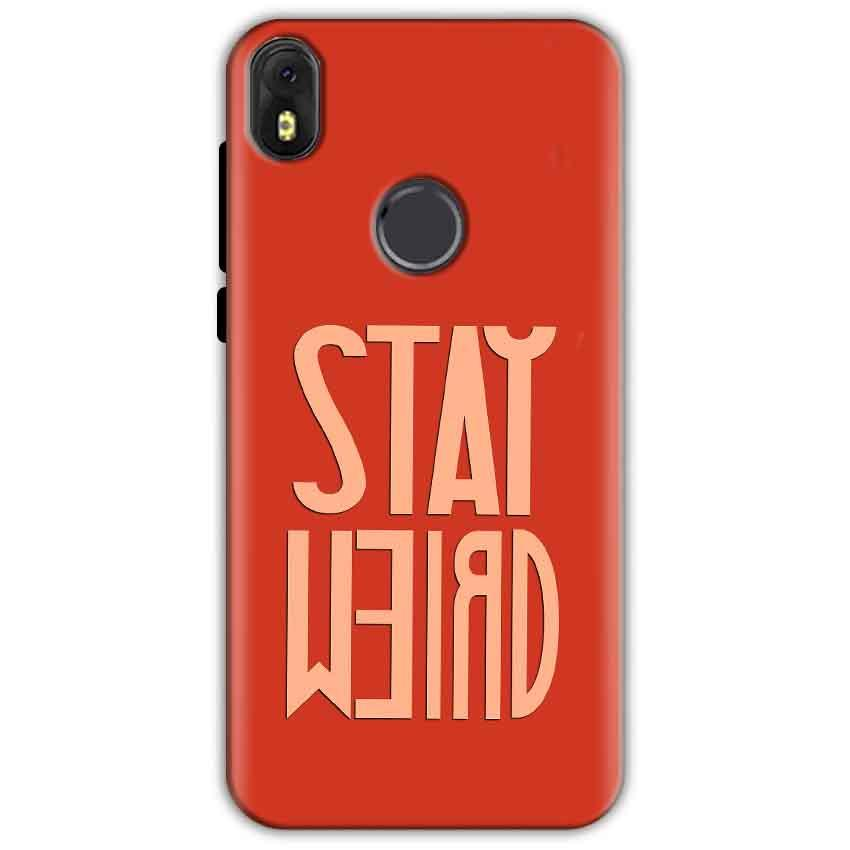 Infinix Hot S3 Mobile Covers Cases Stay Weird - Lowest Price - Paybydaddy.com