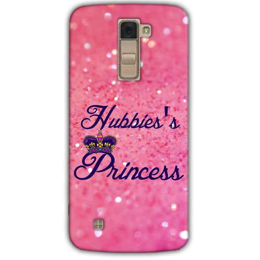 LG K10 K430DSY Mobile Covers Cases Hubbies Princess - Lowest Price - Paybydaddy.com