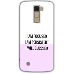 LG K10 K430DSY Mobile Covers Cases I am Focused - Lowest Price - Paybydaddy.com