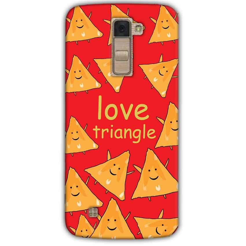 LG K10 K430DSY Mobile Covers Cases Love Triangle - Lowest Price - Paybydaddy.com