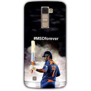 LG K10 K430DSY Mobile Covers Cases MS dhoni Forever - Lowest Price - Paybydaddy.com