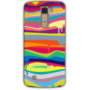 LG K10 K430DSY Mobile Covers Cases Melted colours - Lowest Price - Paybydaddy.com