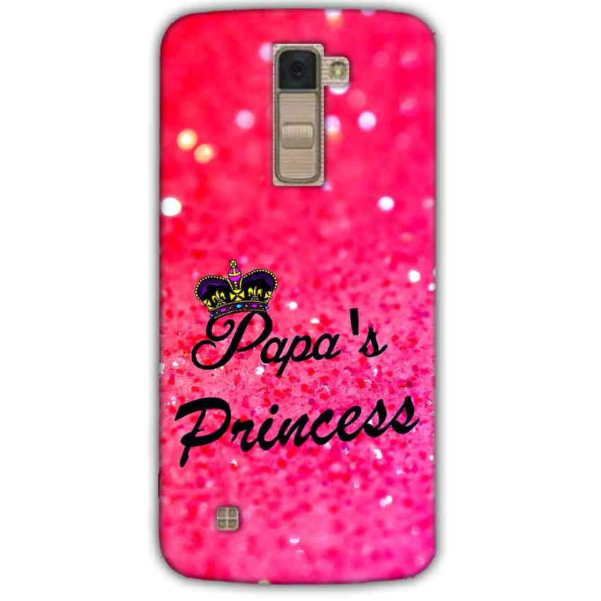 LG K10 K430DSY Mobile Covers Cases PAPA PRINCESS - Lowest Price - Paybydaddy.com