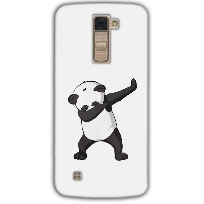 LG K10 K430DSY Mobile Covers Cases Panda Dab - Lowest Price - Paybydaddy.com