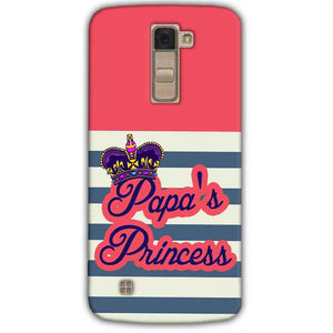LG K10 K430DSY Mobile Covers Cases Papas Princess - Lowest Price - Paybydaddy.com