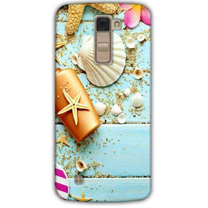 LG K10 K430DSY Mobile Covers Cases Pearl Star Fish - Lowest Price - Paybydaddy.com