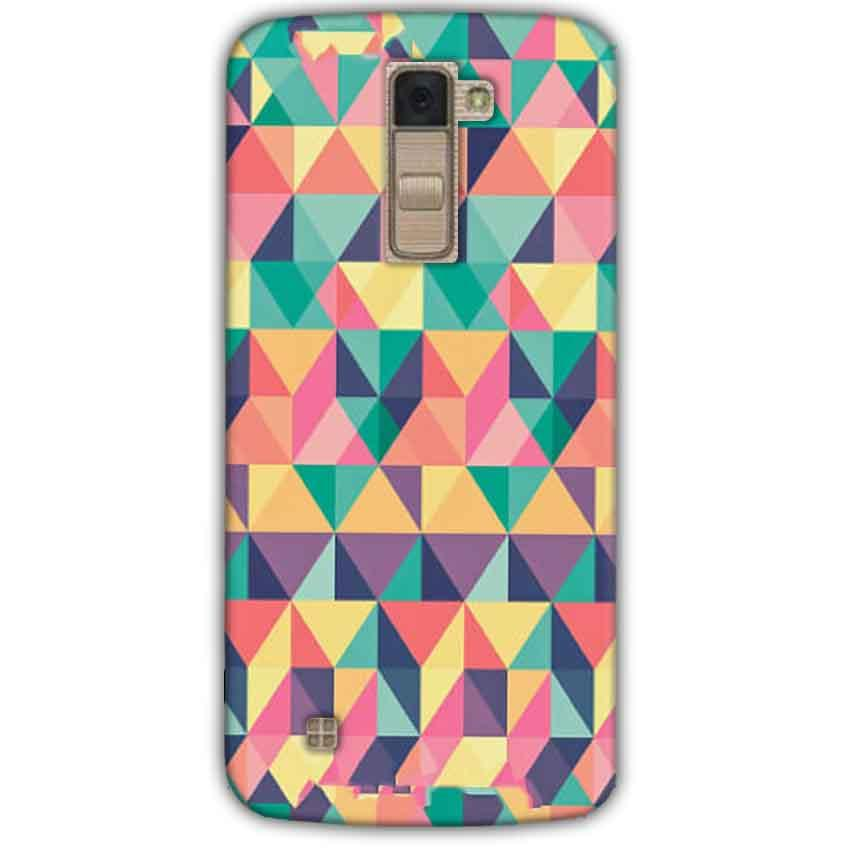 LG K10 K430DSY Mobile Covers Cases Prisma coloured design - Lowest Price - Paybydaddy.com
