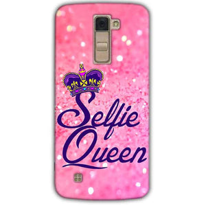 LG K10 K430DSY Mobile Covers Cases Selfie Queen - Lowest Price - Paybydaddy.com