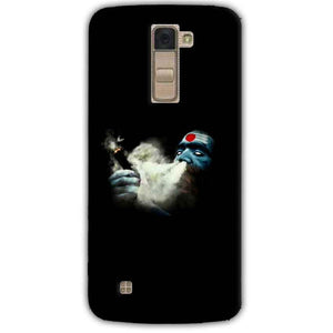 LG K10 K430DSY Mobile Covers Cases Shiva Aghori Smoking - Lowest Price - Paybydaddy.com