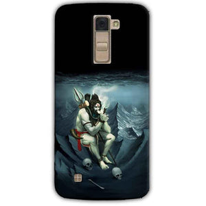 LG K10 K430DSY Mobile Covers Cases Shiva Smoking - Lowest Price - Paybydaddy.com