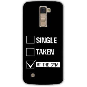 LG K10 K430DSY Mobile Covers Cases Single Taken At The Gym - Lowest Price - Paybydaddy.com