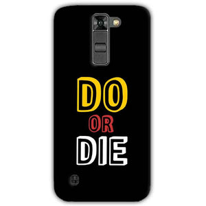 LG K7 Mobile Covers Cases DO OR DIE - Lowest Price - Paybydaddy.com