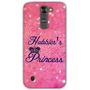 LG K7 Mobile Covers Cases Hubbies Princess - Lowest Price - Paybydaddy.com
