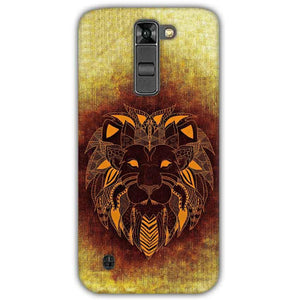 LG K7 Mobile Covers Cases Lion face art - Lowest Price - Paybydaddy.com