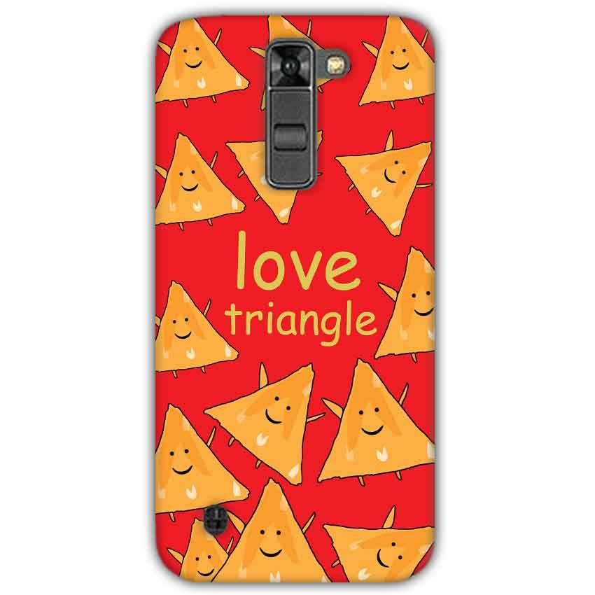 LG K7 Mobile Covers Cases Love Triangle - Lowest Price - Paybydaddy.com