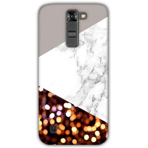 LG K7 Mobile Covers Cases MARBEL GLITTER - Lowest Price - Paybydaddy.com