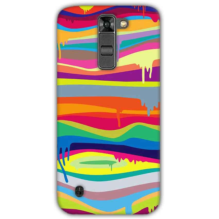 LG K7 Mobile Covers Cases Melted colours - Lowest Price - Paybydaddy.com