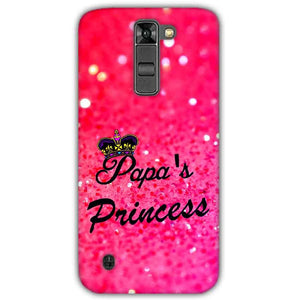LG K7 Mobile Covers Cases PAPA PRINCESS - Lowest Price - Paybydaddy.com