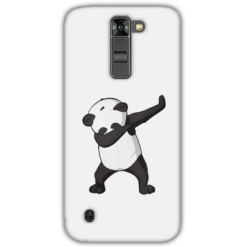 LG K7 Mobile Covers Cases Panda Dab - Lowest Price - Paybydaddy.com