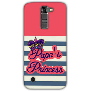 LG K7 Mobile Covers Cases Papas Princess - Lowest Price - Paybydaddy.com