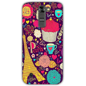 LG K7 Mobile Covers Cases Paris Sweet love - Lowest Price - Paybydaddy.com