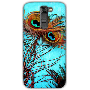 LG K7 Mobile Covers Cases Peacock blue wings - Lowest Price - Paybydaddy.com