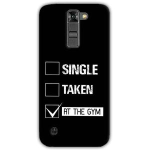 LG K7 Mobile Covers Cases Single Taken At The Gym - Lowest Price - Paybydaddy.com