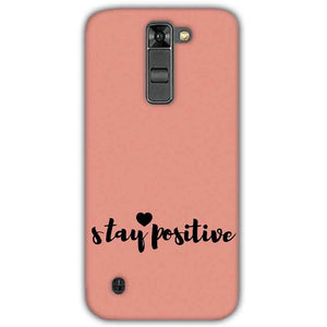 LG K7 Mobile Covers Cases Stay Positive - Lowest Price - Paybydaddy.com