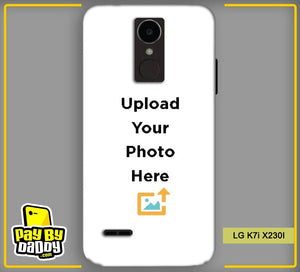 Customized LG K7i X230I Back Mobile Phone Covers & Back Covers with your Text & PhotoPhoto Cover,Custom Cover,Picture With Cover