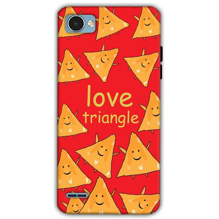 LG Q6 Mobile Covers Cases Love Triangle - Lowest Price - Paybydaddy.com